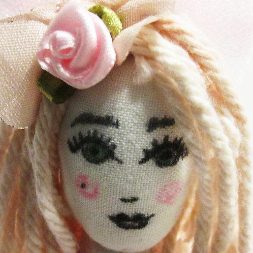 Shabby Chic Doll-Precious Paulina