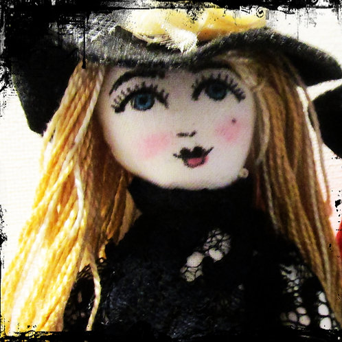Halloween Witch Doll-Creepy Cruella