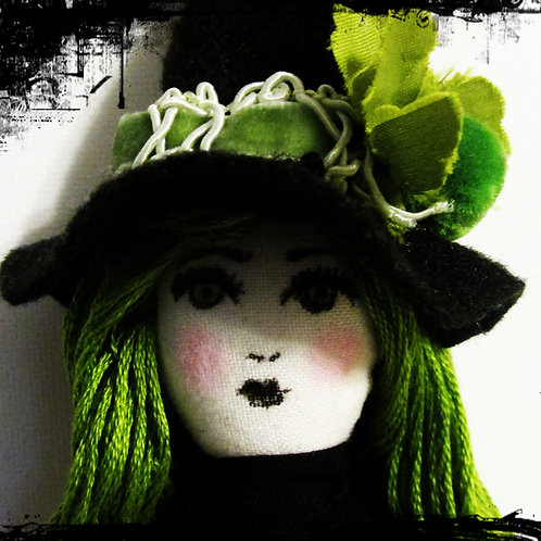 Halloween Witch Doll-Evelyn Eek!