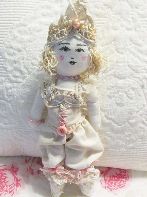 Shabby Chic Doll- Princess Front View~