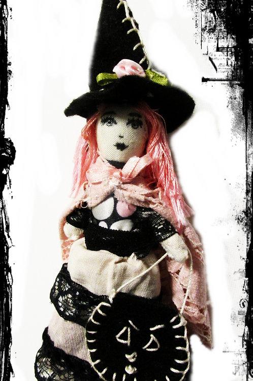Halloween Witch Doll-Dangerous Darla