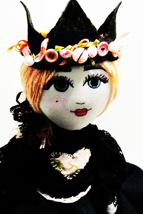 Queen Doll, Royal Queen Doll, Enchanted Doll