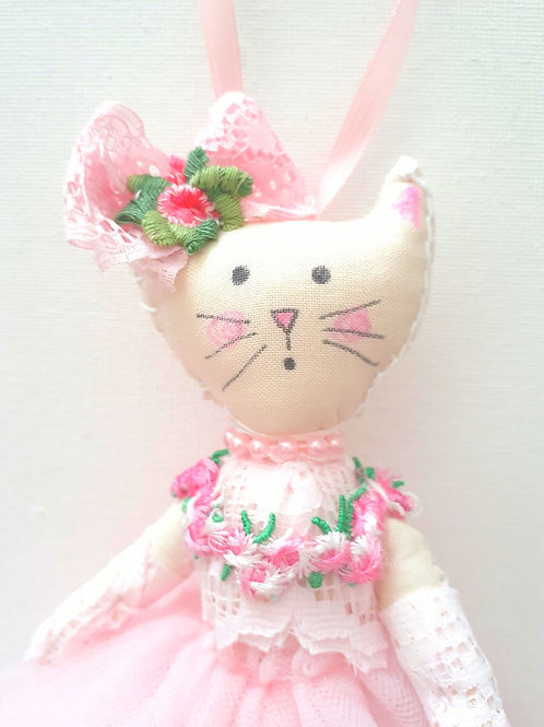 Cat Doll-Kitty in Pink