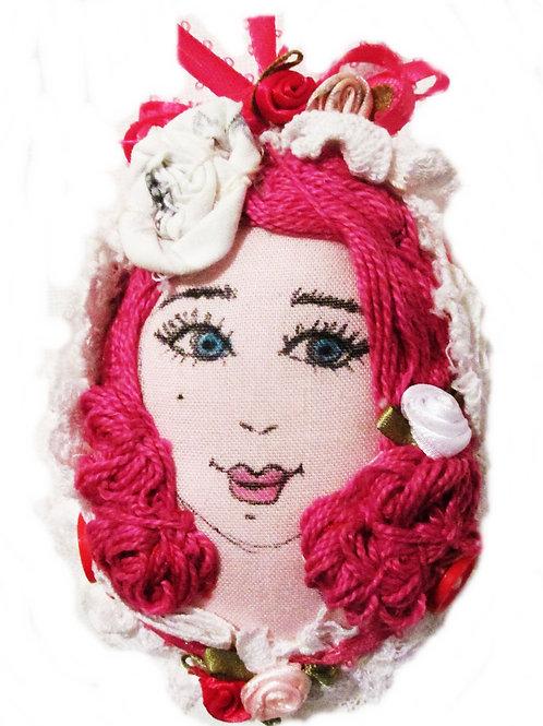 Shabby Chic Easter Egg-Radiant Rosie