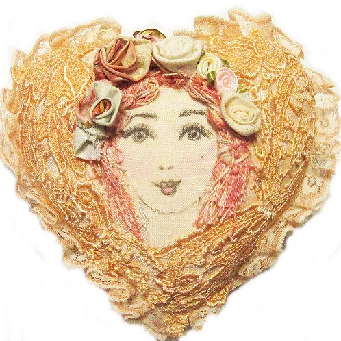 Shabby Chic-Victorian Heart