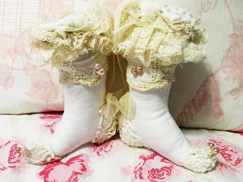 Cinderella Boot Ornaments