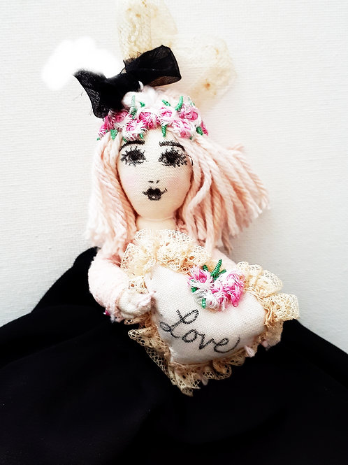 Shabby Chic Handmade Doll
