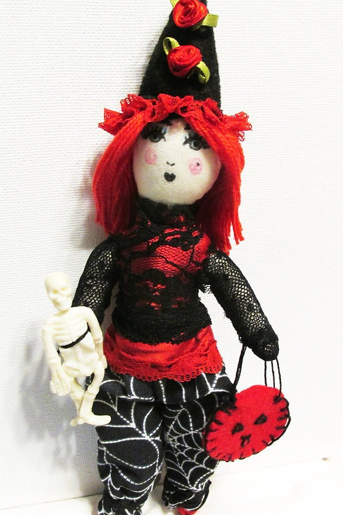 Halloween Doll-Trick or Treater