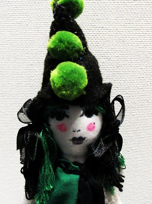 Halloween Perriot Clown Doll-Clarabell the Clown
