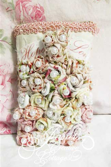 Shabby Roses Cell Phone Cover