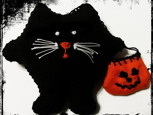 Puffie Salem Cat