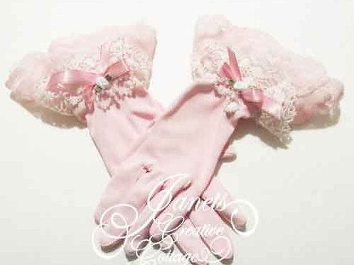 Pretty Pink Gloves