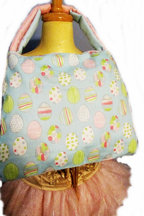 Shabby Chic Easter Egg Handbag, Handmade Bag