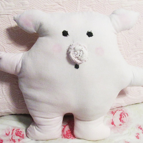 Puffies Collection-Puffy Pig Stuffed Animal