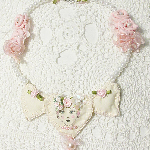 Shabby Chic Victorian Necklace