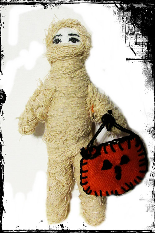 Mummy Doll-Handmade Mummy Doll-Halloween
