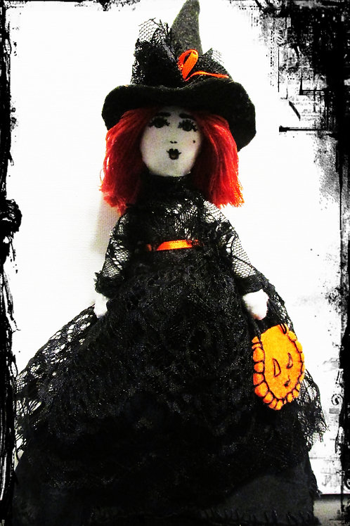 Halloween Witch Doll-Spooky Sybil