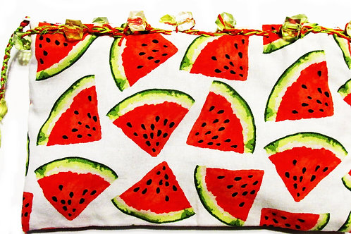 Watermelon Pouch, Watermelon Bag