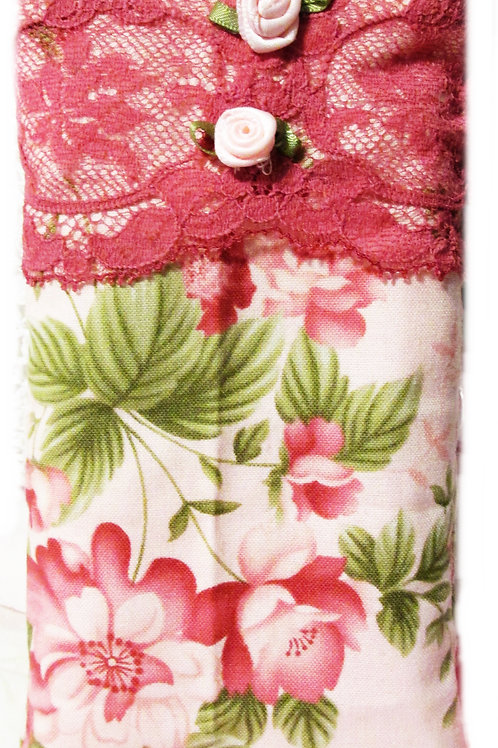 Shabby Chic Floral Cell Cover