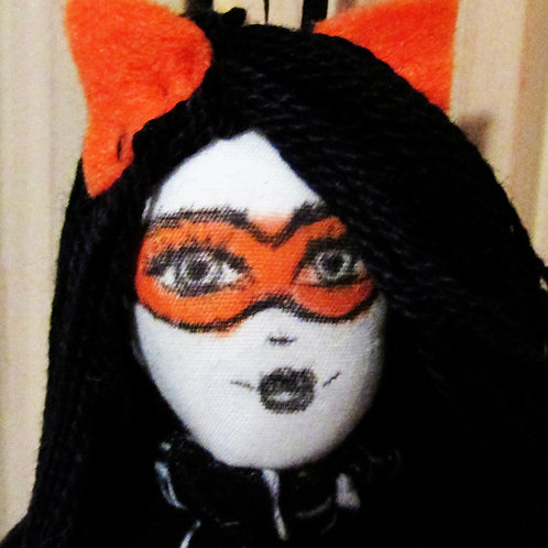 Halloween Cat Girl Doll