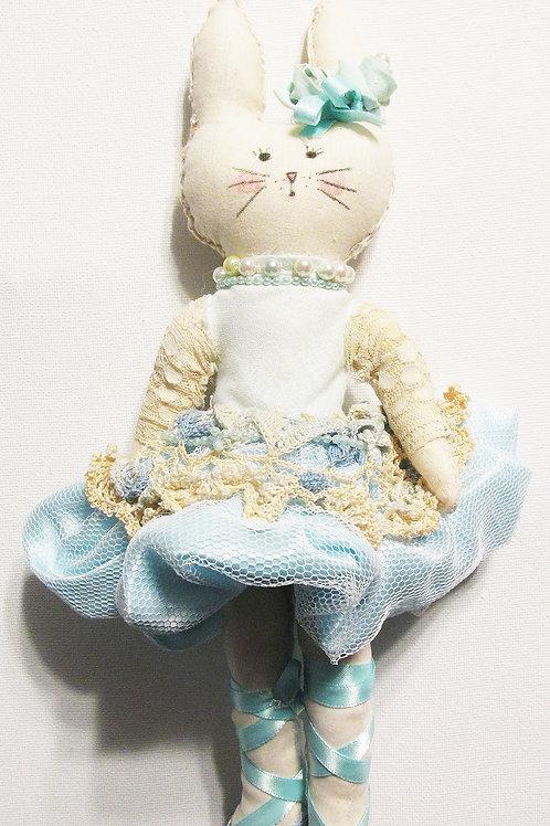 Shabby Chic Handmade Bunny Doll