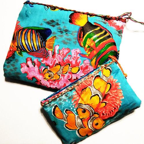 Tropical Fish Bags, Tropical Fish Pouches