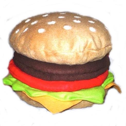 Cheeseburger Pillow