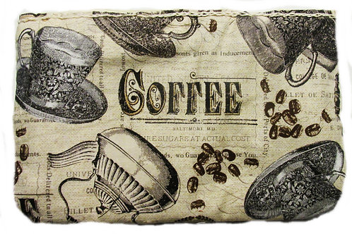 Coffee makeup bag-Coffee Pouch
