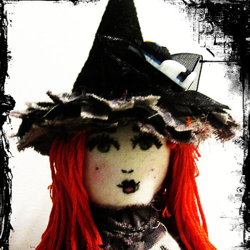 Halloween Witch Doll-Haunting Hilda