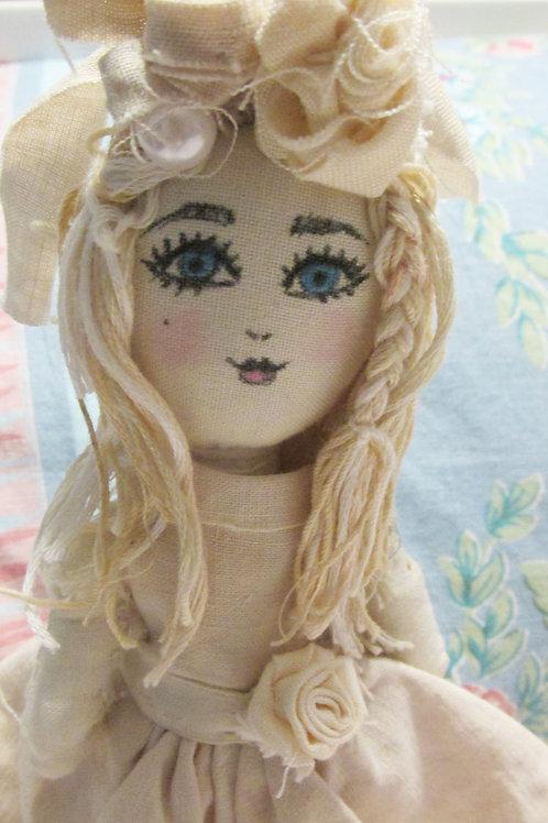 Shabby Chic Doll-Sarah