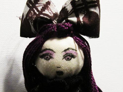Handmade Halloween Doll-Creepy Cathy