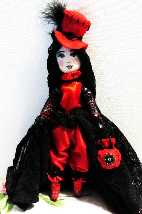 Steampunk Victorian Handmade Doll-Elizabeth