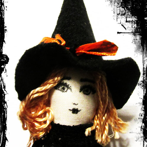 Halloween Witch Doll-Spooky Silvia