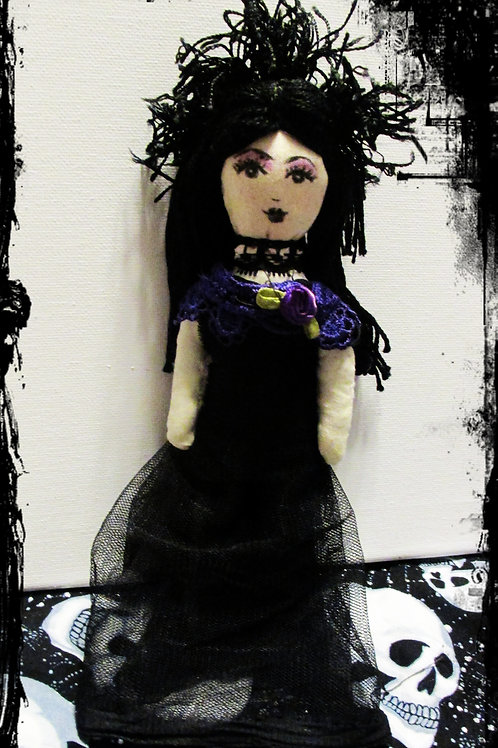 Handmade Halloween Doll-Spooky Sylvia, Creepy Doll