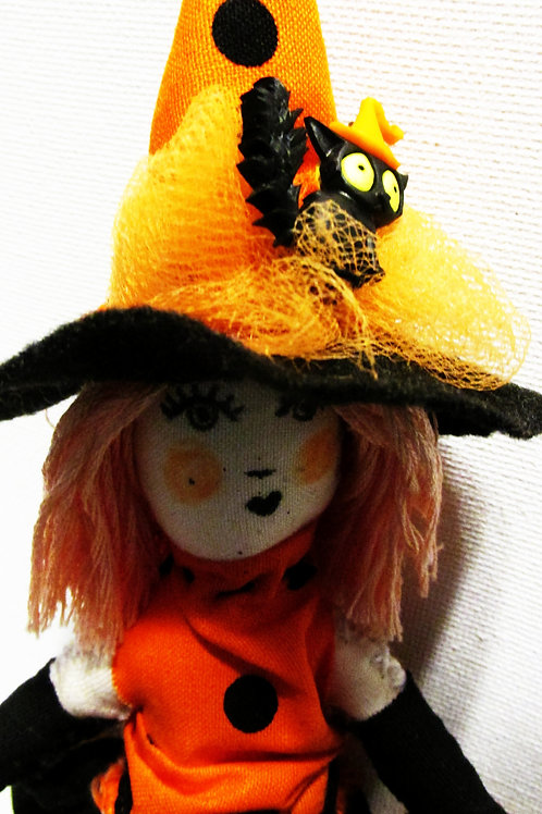 Halloween Sandy Salem Doll-Trick or Treater Doll