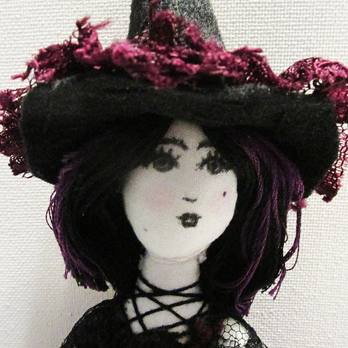Halloween Witch Doll-Howling Harriet