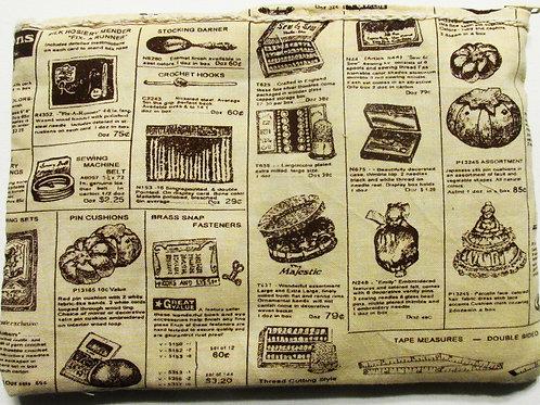 Retro Kitchen Themed Pouch, retro kitchen makeup pouch