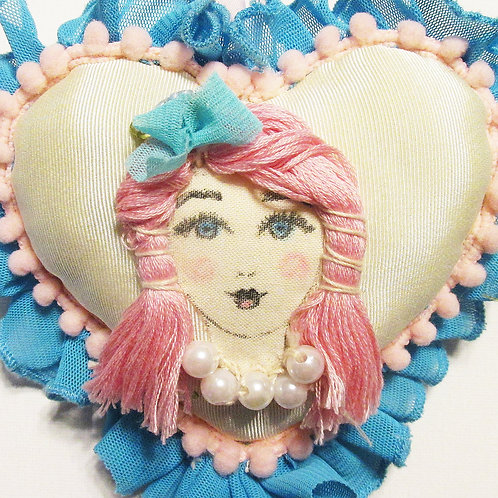 Shabby Chic Girl Heart