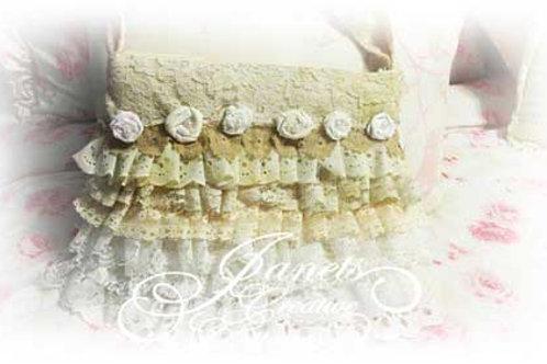 Shabby Chic Lace Handbag