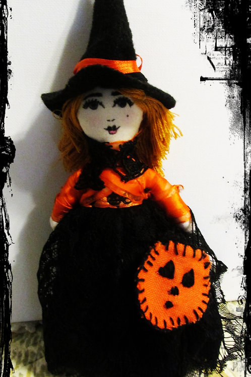 Halloween Witch Doll-Agonizing Alice