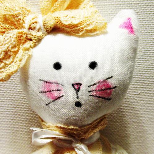 Shabby Chic Victorian Cat Doll