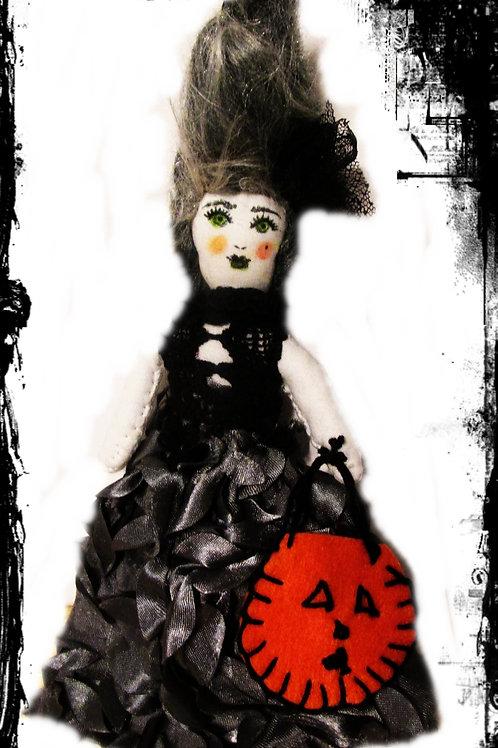 Halloween Doll-Bride of Frankenstein Doll