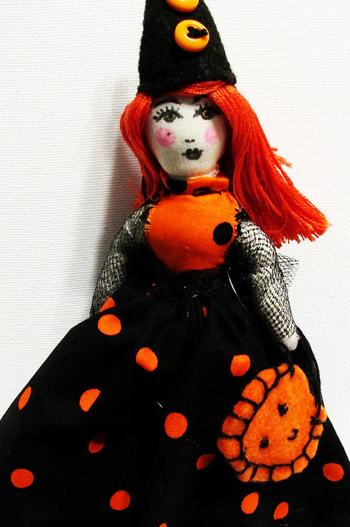 Halloween Doll, Trick or Treater Doll