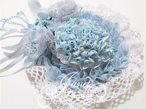 Shabby Chic Doll Bonnet