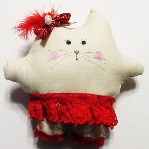 Puffie Cat-Moulin Rouge Ruby