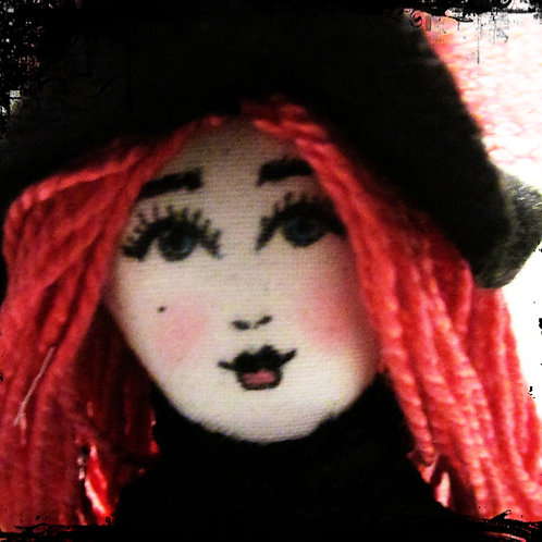 Halloween Witch Doll-Petrified Patty