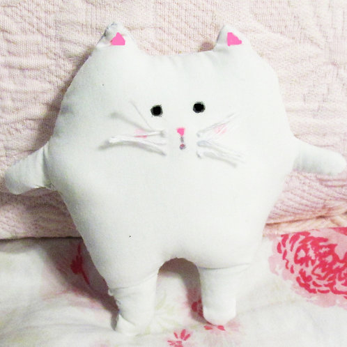 Puffy Cat Stuffed Animal