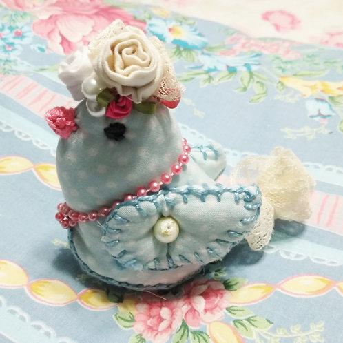 Shabby Chic Polka Bird
