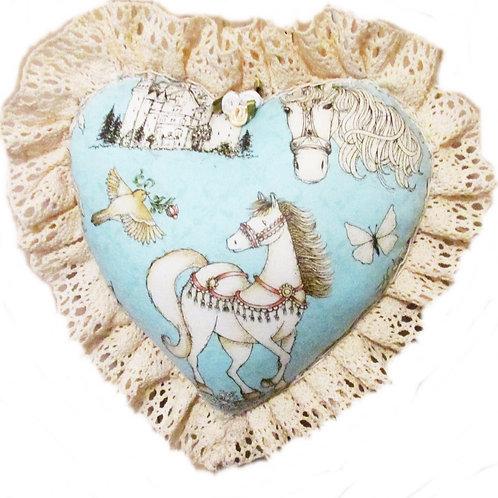 Cinderella Heart Pillow