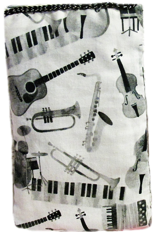 Music Cell Phone Sleeve, Cover
